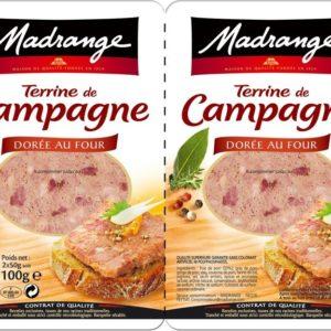 Duo de Terrine de Campagne 2x50g