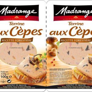Duo de Terrine aux cèpes 2x50g