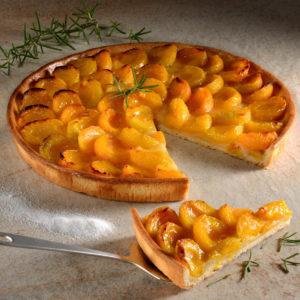 Tarte aux Abricots Ø 27 cm PUR BEURRE 5 pcs