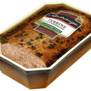 Terrine de campagne au poivre vert 1,5 kg