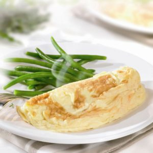 60 omelettes natures 90g - Oeufs issus d'élevage plein air