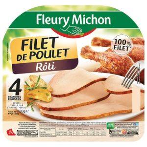 4 Tr. Epaisses filet Poulet Roti 120g