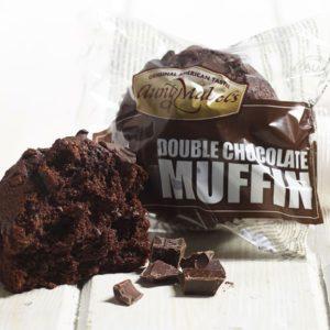 Muffin double chocolat - 16 pièces de 102g