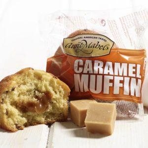 Muffin caramel - 16 pièces de 102g