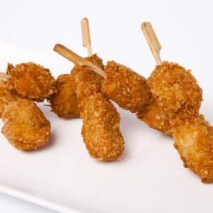 Brochette poulet, coco Massaman, 200 pièces de 25g