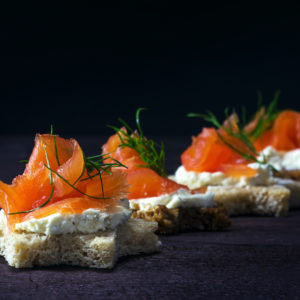 Saumon fumés & Terrines Légumes et poissons