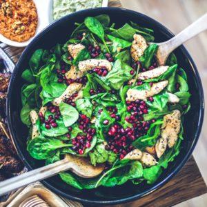 Salades élaborées
